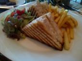 Posh chicken sandwich