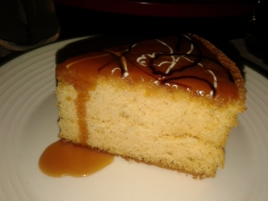 Caramel Sponge Cake with Toffee Sauce (Heaven on Earth)