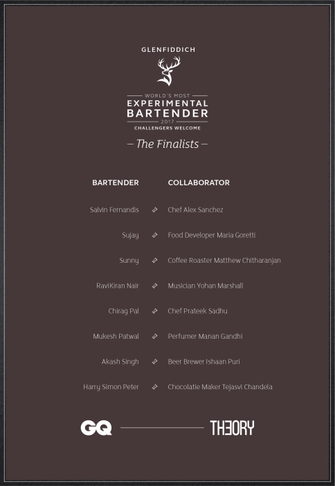 Glenfiddich- Finalists